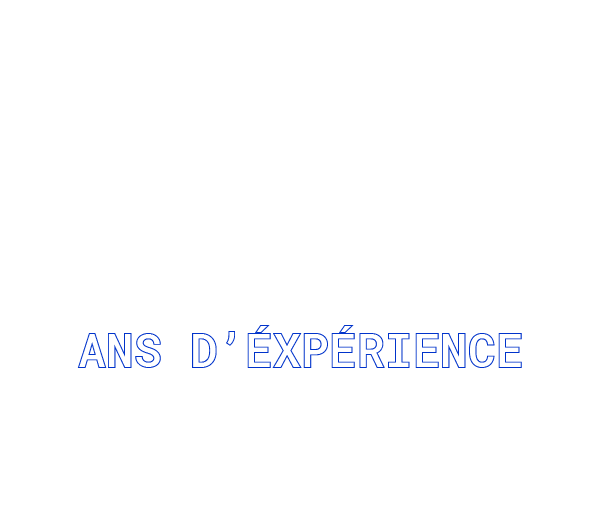 80 ans d'experience